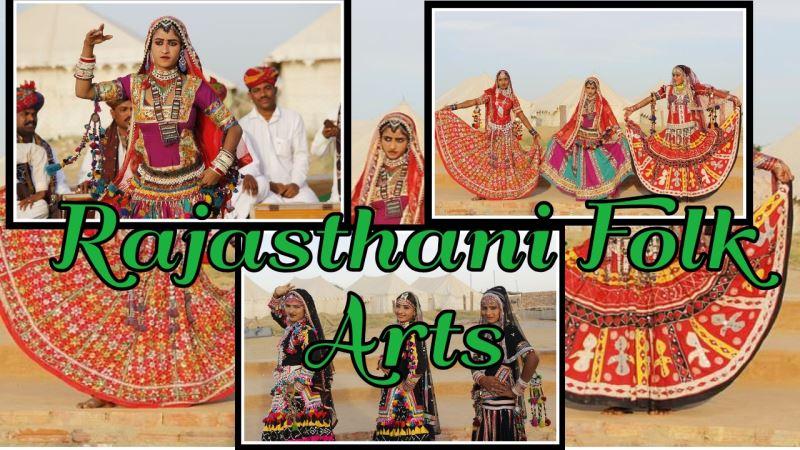 Best Rajasthan Folk Arts In Hindi 2021